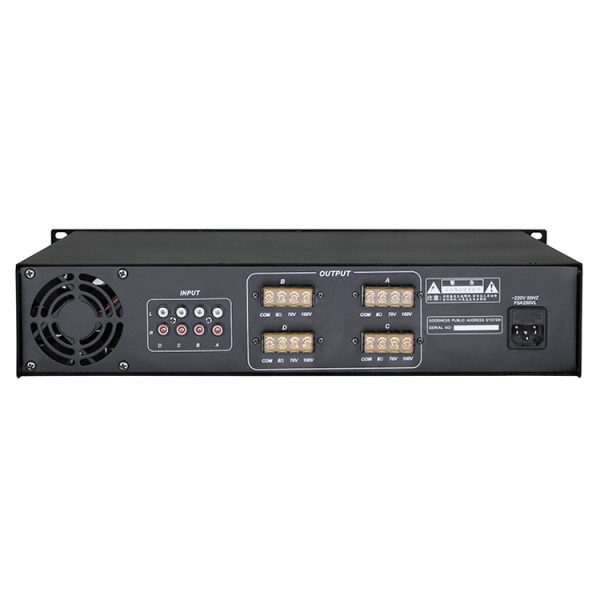 4-CH Power Amplifier-2